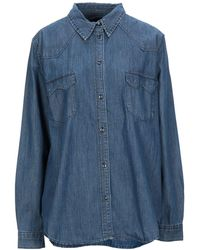Armani Exchange Camicia jeans - Blu