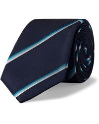 Paul Smith Cravate - Bleu