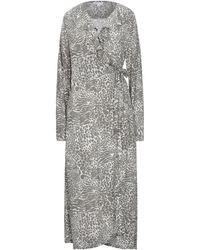 Lily and Lionel 3/4 Length Dress - Grey
