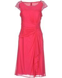 Clips - Knee-length Dress - Lyst