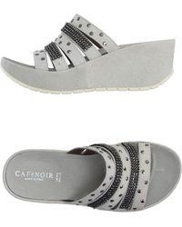 CafeNoir Sandals - White