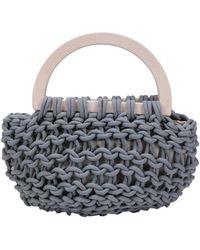 Alienina Handbag - Grey