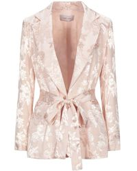 Twenty Easy By Kaos Suit Jacket - Pink