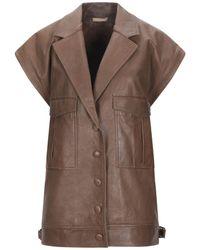 Nehera Overcoat - Brown