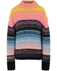 Essentiel Antwerp Vietiane Striped Sweater - Pink