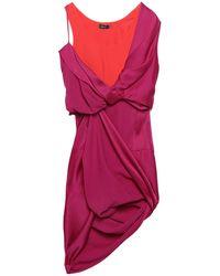 Atlein Short Dress - Red