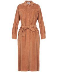 ViCOLO 3/4 Length Dress - Brown