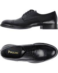 Pollini Stringate - Nero