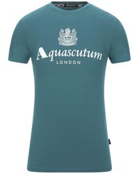 Aquascutum T-shirt - Blue