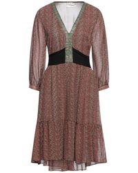 MEISÏE Short Dress - Green