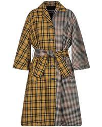 Hache Coat - Yellow