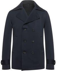 Harris Wharf London Lange Jacke - Blau
