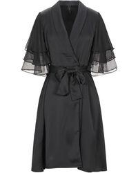 Y.A.S Knee-length Dress - Black