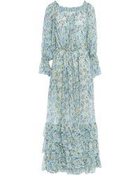 Jucca Robe longue - Bleu