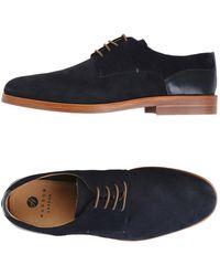 H by Hudson Lace-up Shoe - Blue
