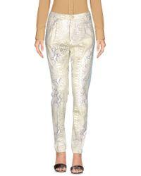 History Repeats Pantalones - Blanco