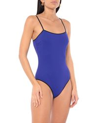Tooshie One-piece Swimsuit - Blue