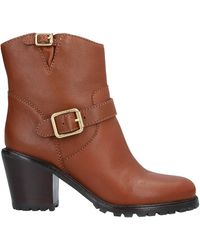 Marc By Marc Jacobs Ankle Boots - Brown