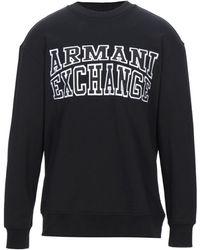 Armani Exchange Felpa - Nero