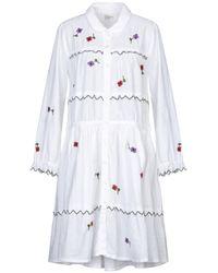 Leon & Harper Knee-length Dress - White