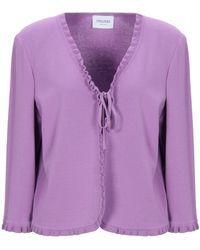Stizzoli Cardigan - Purple