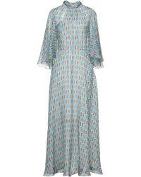 Celine Long Dress - Blue