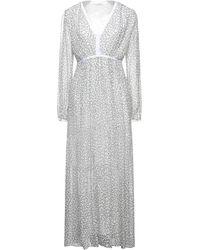 CafeNoir Langes Kleid - Weiß