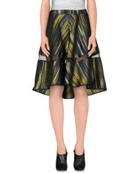 Ostwald Helgason - Knee Length Skirt - Lyst