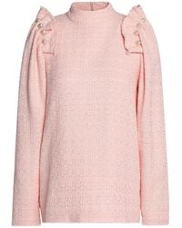 Mother Of Pearl Blouse - Pink
