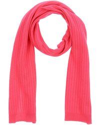 Courreges Oblong Scarf - Pink