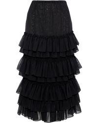 Rosie Assoulin Long Skirt - Black