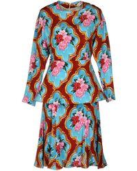 Tata Naka Knielanges Kleid - Blau