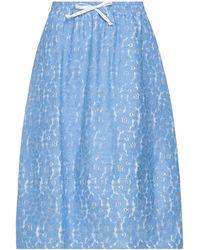 Societe Anonyme Midi Skirt - Blue