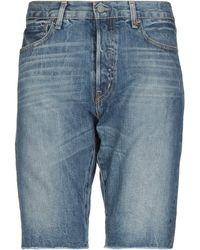 Denim & Supply Ralph Lauren Jeansbermudashorts - Blau