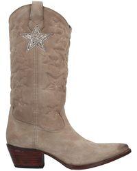Mexicana Boots - Natural