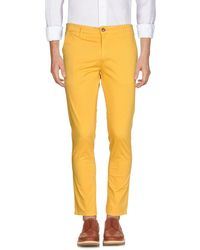 Squad² Trousers - Yellow