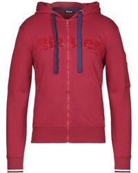 Blauer Sweatshirt - Red