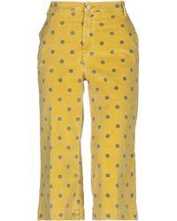 Manila Grace 3/4-length Short - Yellow