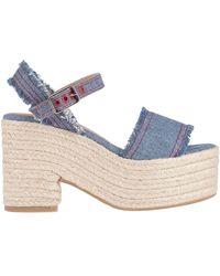 Castaner Sandals - Blue