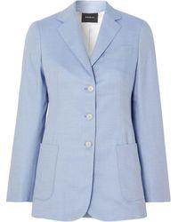 Akris Suit Jacket - Blue