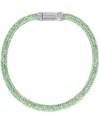 Acne Studios Necklace - Green
