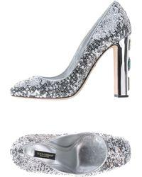 Dolce & Gabbana Zapatos de salón - Metálico