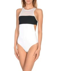 T By Alexander Wang - One-piece Swimsuit - Lyst