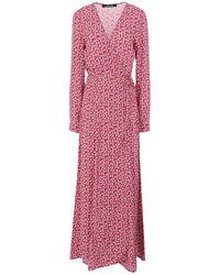 ANDAMANE Long Dress - Red