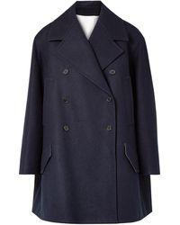 CALVIN KLEIN 205W39NYC Manteau long - Bleu