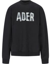 ADER error Sweatshirt - Black