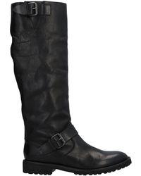 Key Té Boots - Black