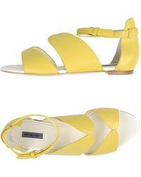 Emanuel Ungaro Sandals - Yellow