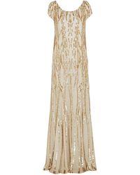 Jenny Packham Robe longue - Neutre