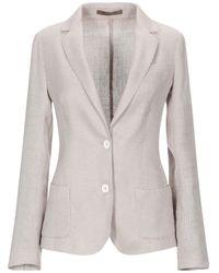 Eleventy Suit Jacket - Natural